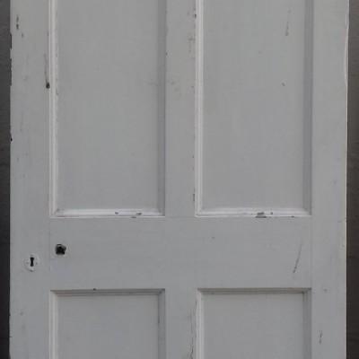 Georgian 4 panel pine door.