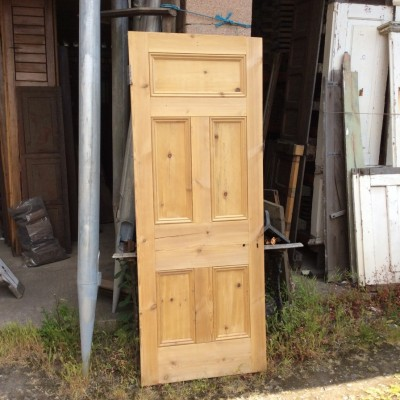 Stripped pine 5 panel doors