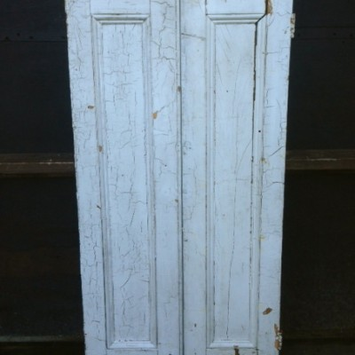 "Antique Wooden Window Shutters - 28.5"" x 56"""