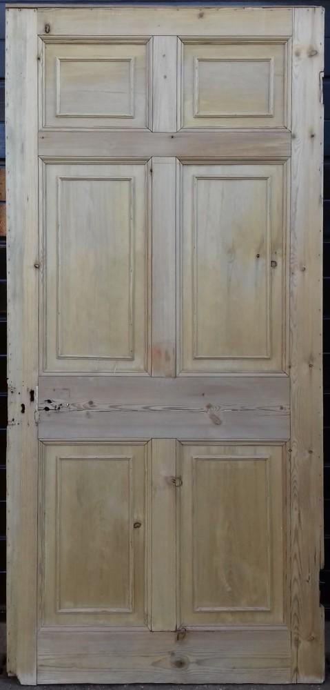 Georgian 6 panel door.
