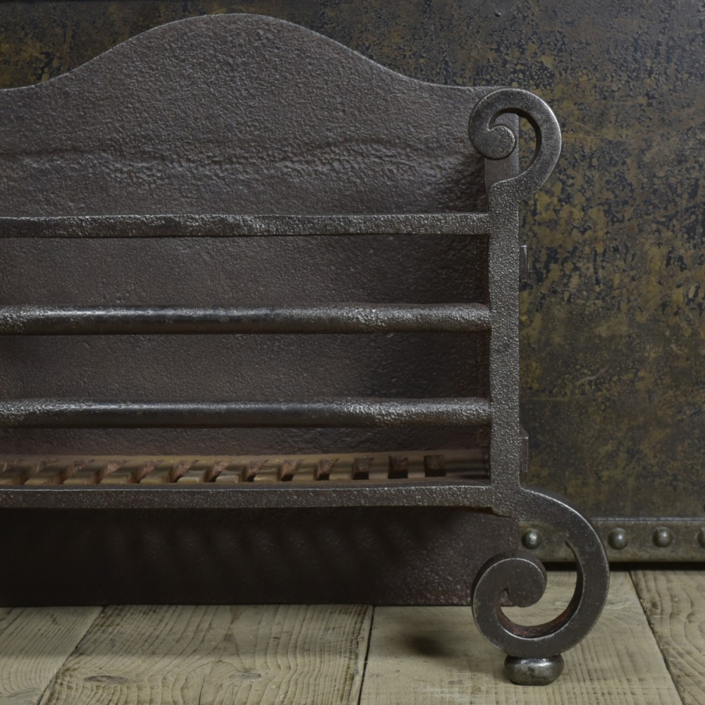 19th Century Cast Iron Fire grate