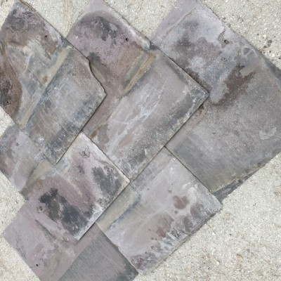 "Welsh Blue Reclaimed Slates 16"" x 12""s"