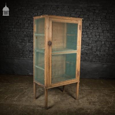 Large Georgian Pine Meat Safe Cupboard
