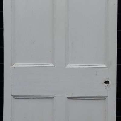 Georgian 6 panel pine door.
