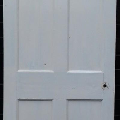 Georgian 6 panel pine door.