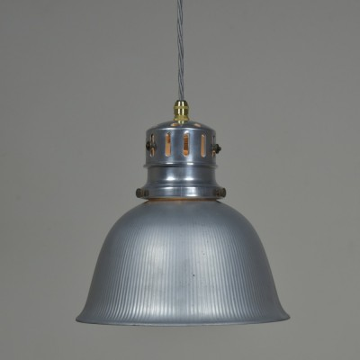 Silvered Pendant Light by Gecoray