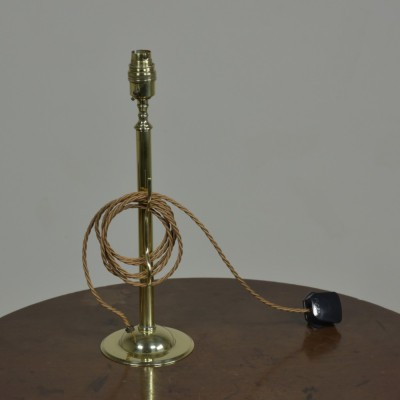 Antique Brass Table / Desk Lamp