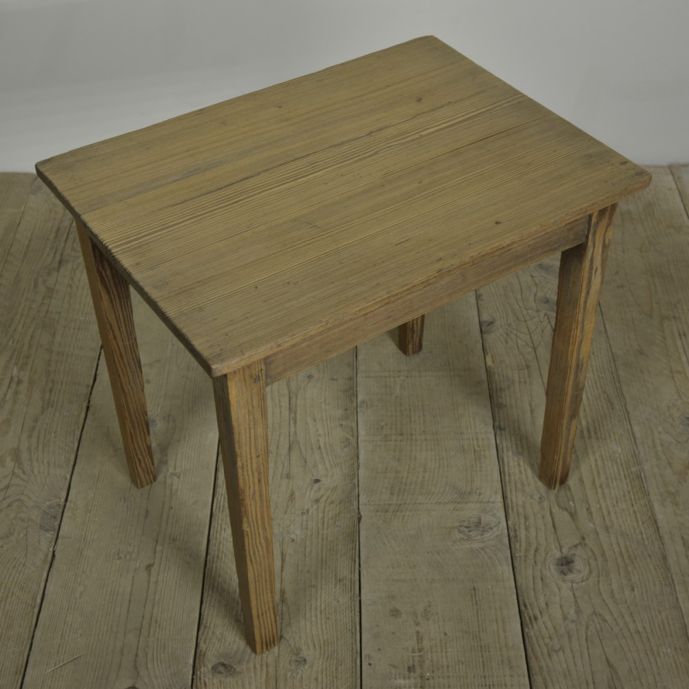 Textured Pine Table