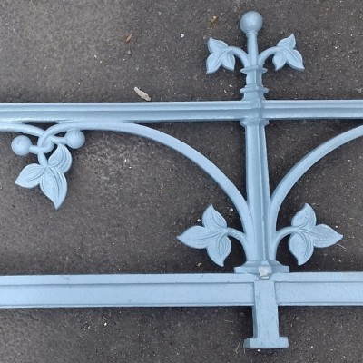 Victorian cast iron railing.