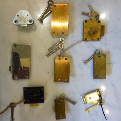 Brass Locks with Keys