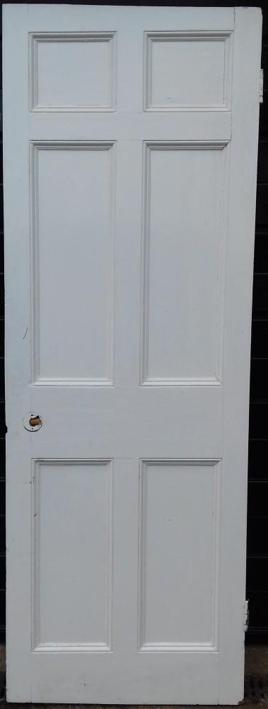 6 panel pine door.