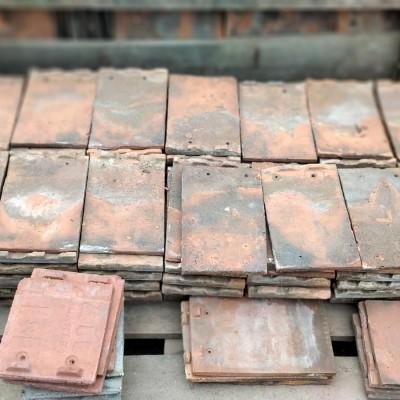 Reclaimed Handmade Clay Pegs