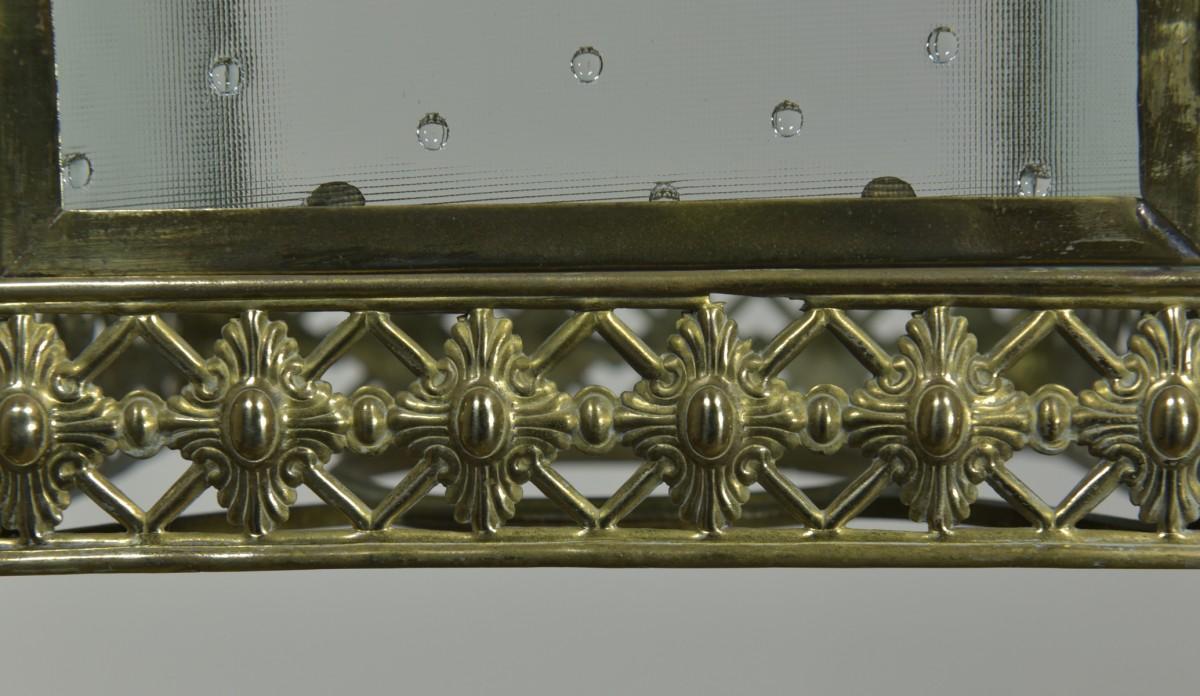 Gilt Brass Lantern
