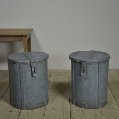 Rivetted Zinc Bins