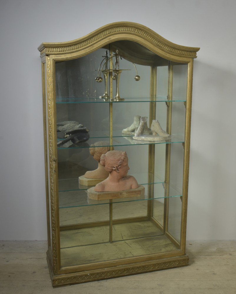 Gilded Domed Display Cabinet