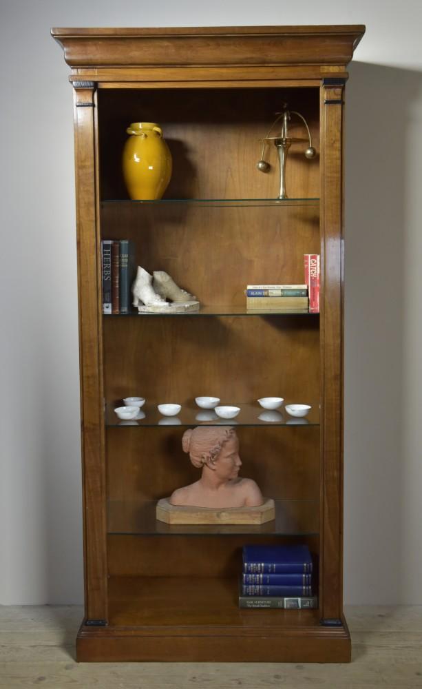 Tall Walnut Shelves