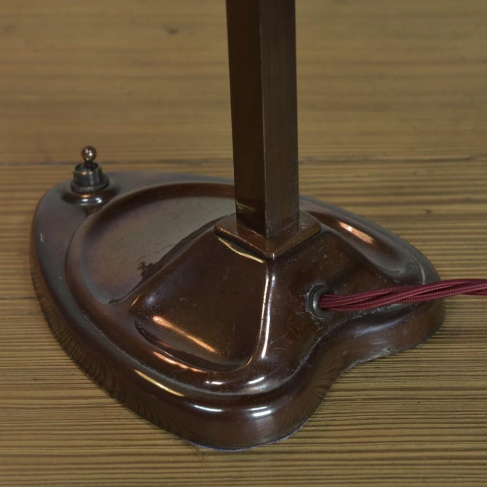 Bronzed Brass Table / Desk Lamp
