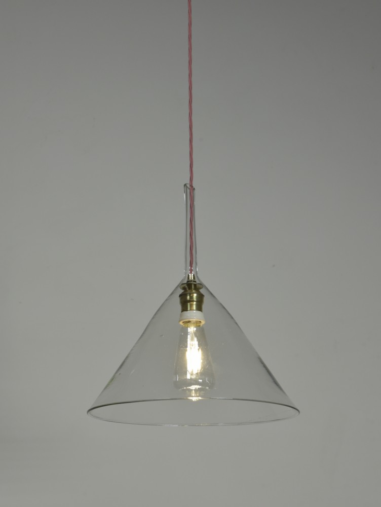 Antique Funnel Light - Very Large