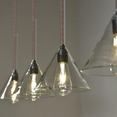 Antique Funnel Lights - Large