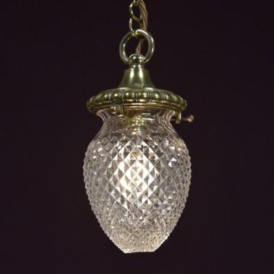 Hobnail Glass Pendant