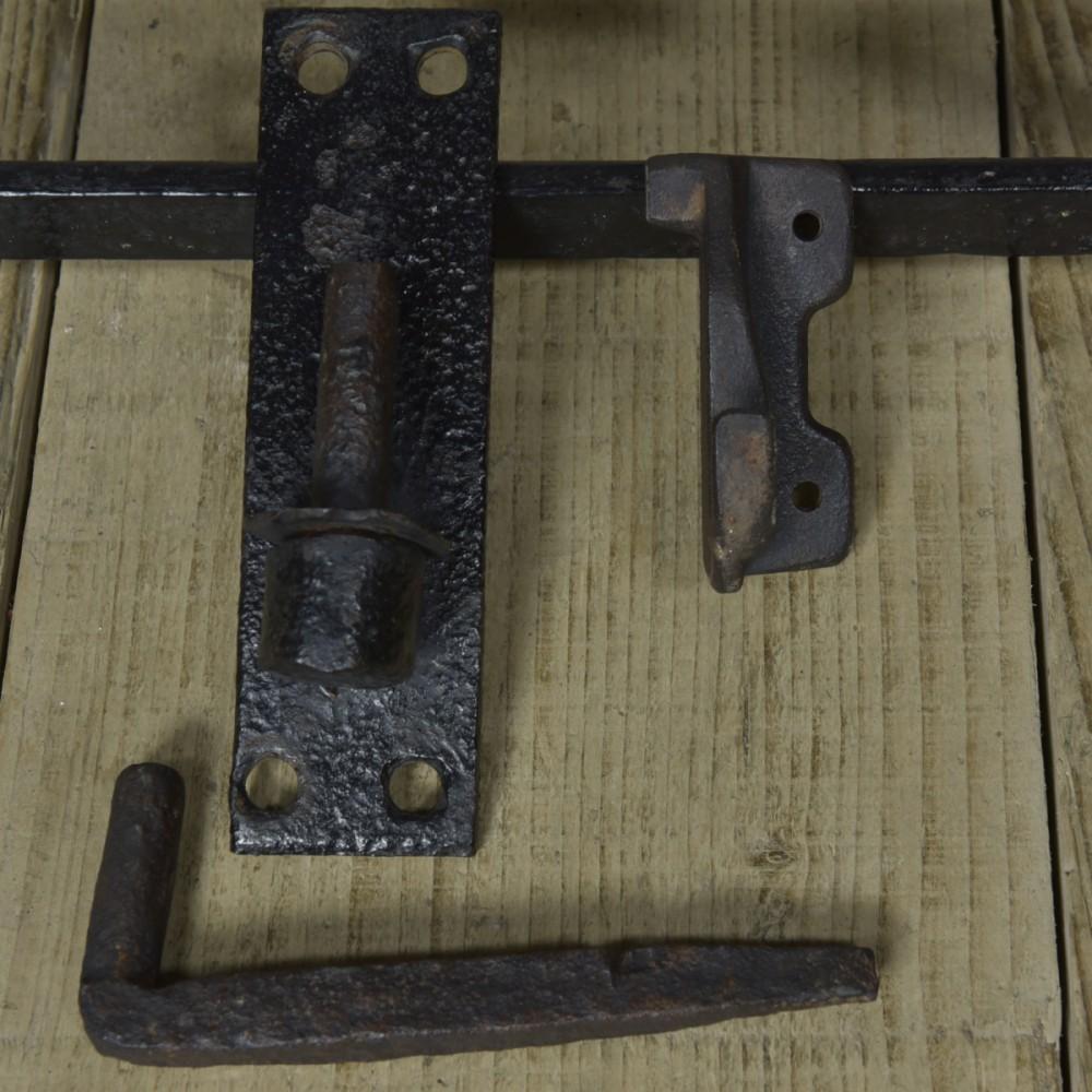 Antique Iron Estate Gate