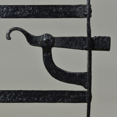 Antique Iron Estate Gate