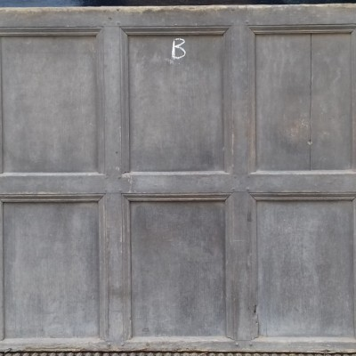 17th / 18th century oak wall paneling.