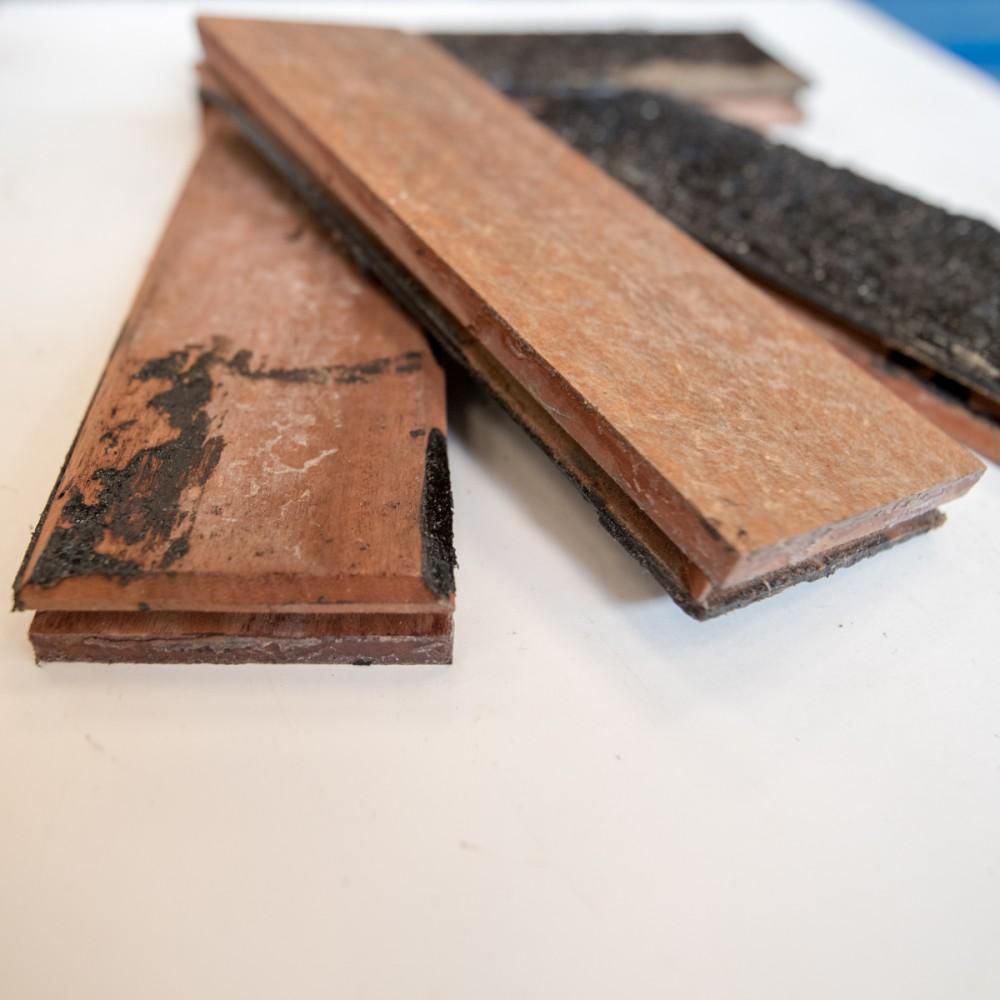 Reclaimed Sapele Parquet Flooring Available