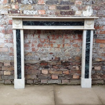 Antique Regency Marble Fireplace Surround