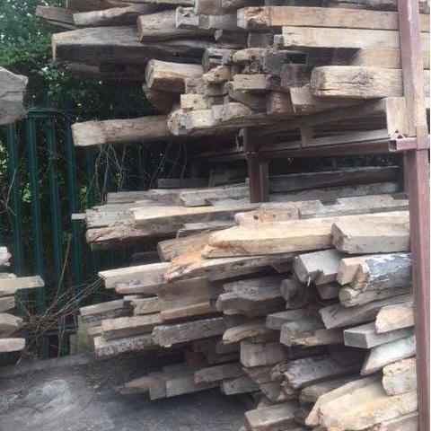 Reclaimed oak, reclaimed elm, reclaimed pine,