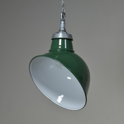 Antique Angled Enamel Lights