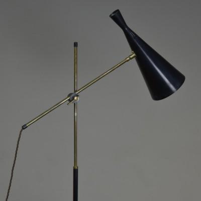 1950s GA Scott Floor Lamp