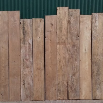 Elm beaded wall cladding / boards