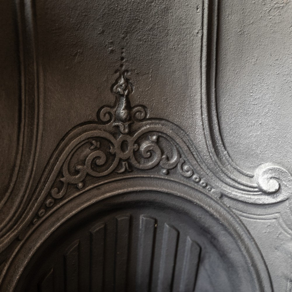 Reclaimed Victorian Style cast iron arched insert