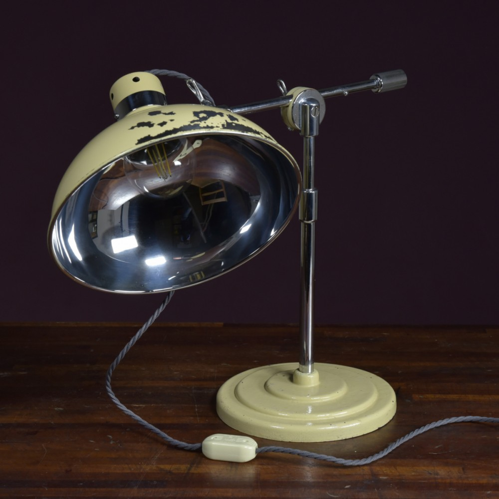 Medical Table Lamp by John Bell