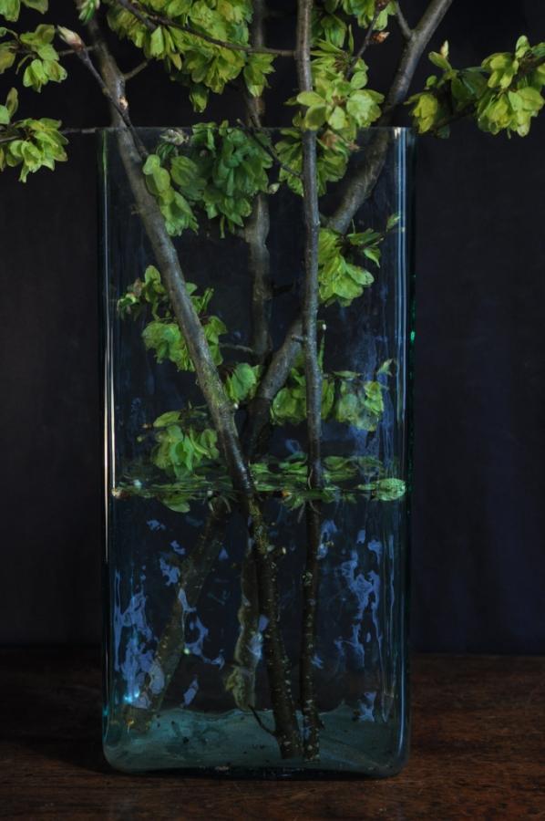 large glass vases or vessels