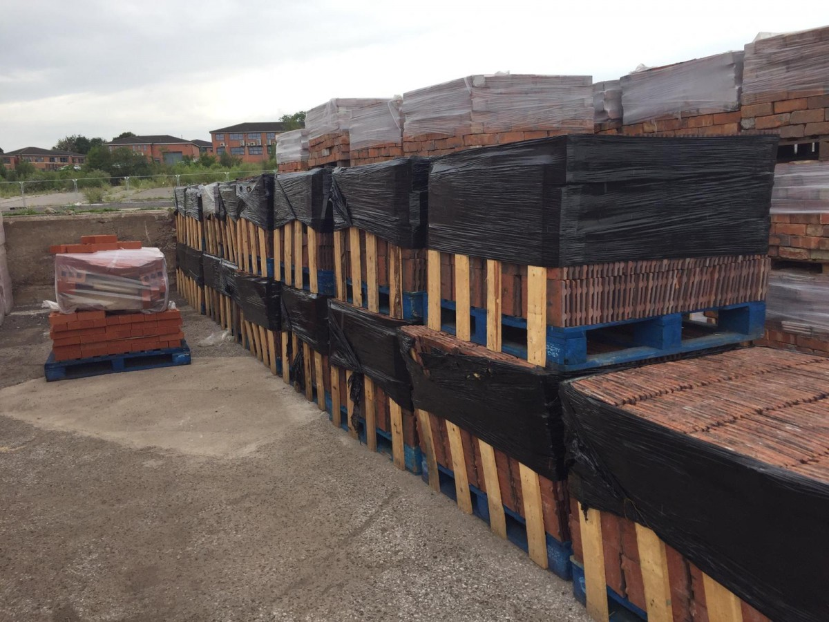 Large Quantities of Top Quality 10.5'  x 6.5' Reclaim Rosemary Tiles