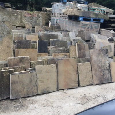 WANTED - RECLAIMED YORKSTONE FLAGS