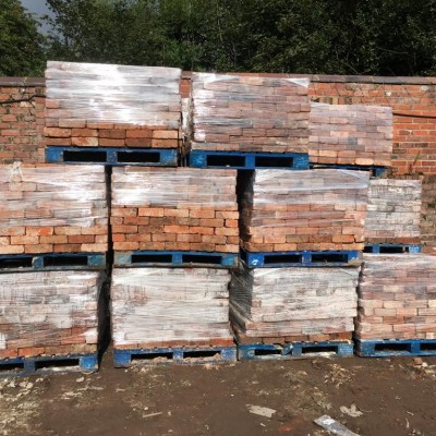 Quality Reclaimed Cheshire Handmade Bricks 73mm