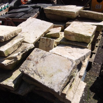 Reclaimed flagstones cotswold flagstones