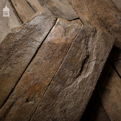 Period Antique Oak Flooring 16th C Floorboards
