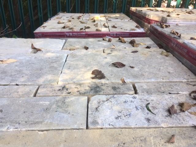 Reclaimed Bathstone Ashlar