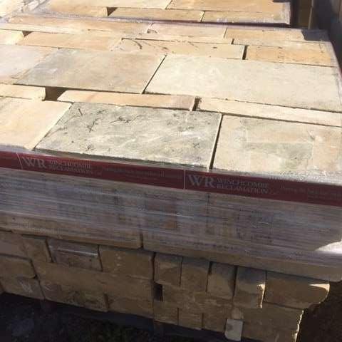 Reclaimed Limestone Ashlar