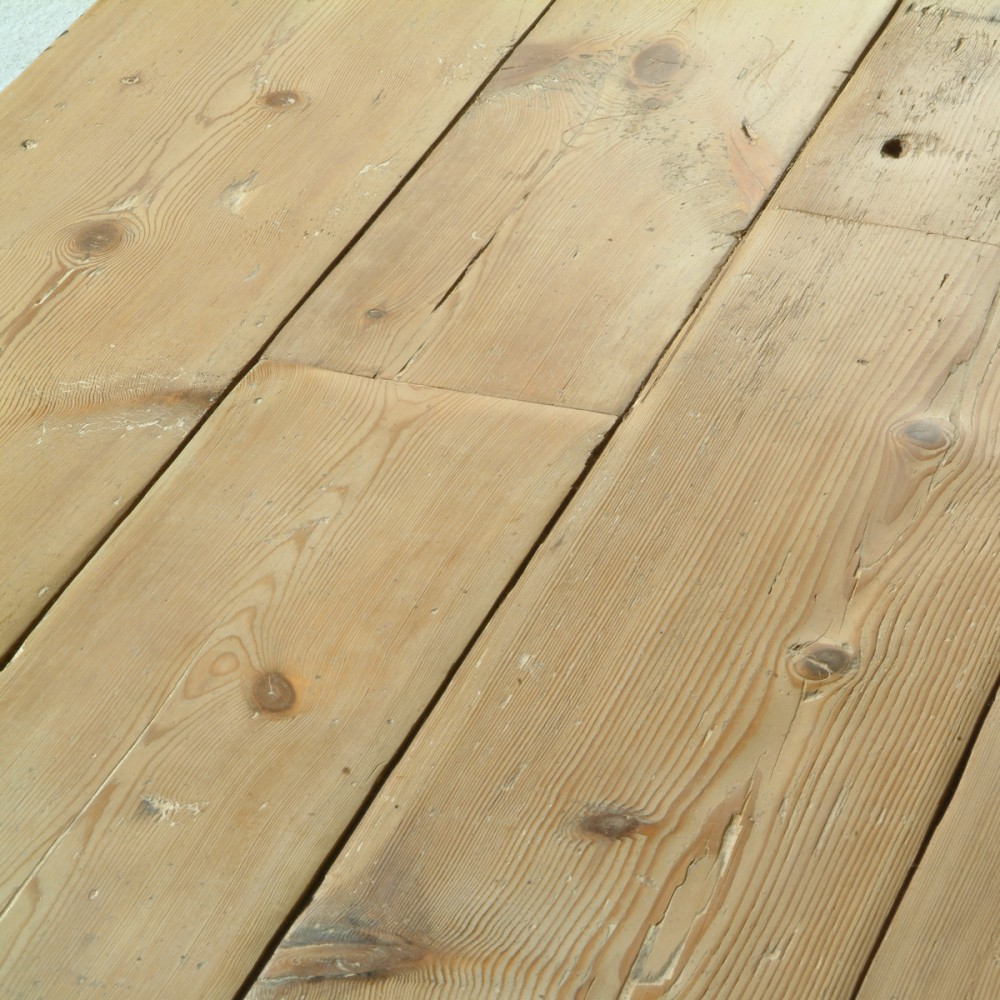 Reclaimed original London Board - pine floorboards