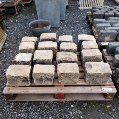 Reclaimed Large Gritstone Cobbles