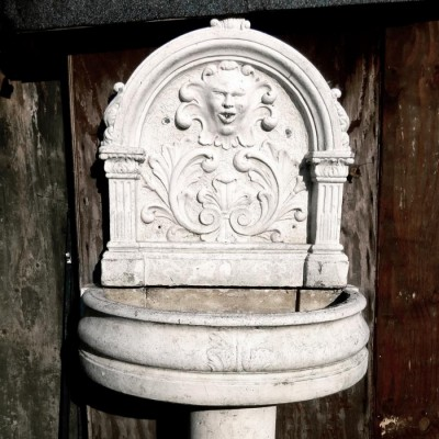 Decorative Stone Wall Fountain