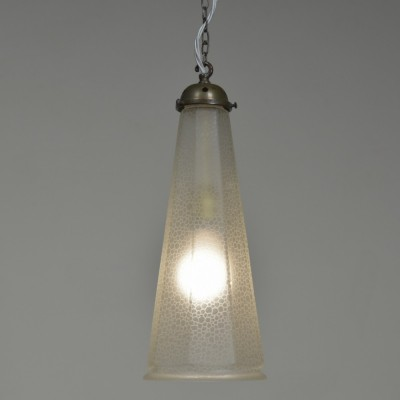 Etched Octagonal Pendant Shade