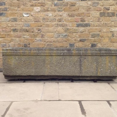 Carved Stone Trough