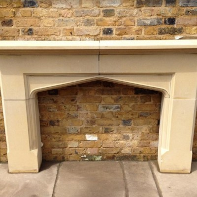 A Stone Fire Surround