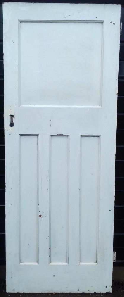1930s paneled door.
